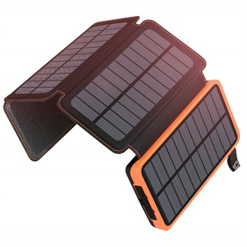 25000mAh Solar Charger ADDTOP Portable Solar Power Bank with Dual