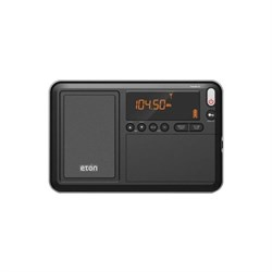 Eton NGWTIIIB Traveler III AM/FM/LW/SW and Radio with ATS, Black