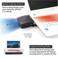 Opolar LC05 Laptop Swith Vakumlu Laptop Soğutucu